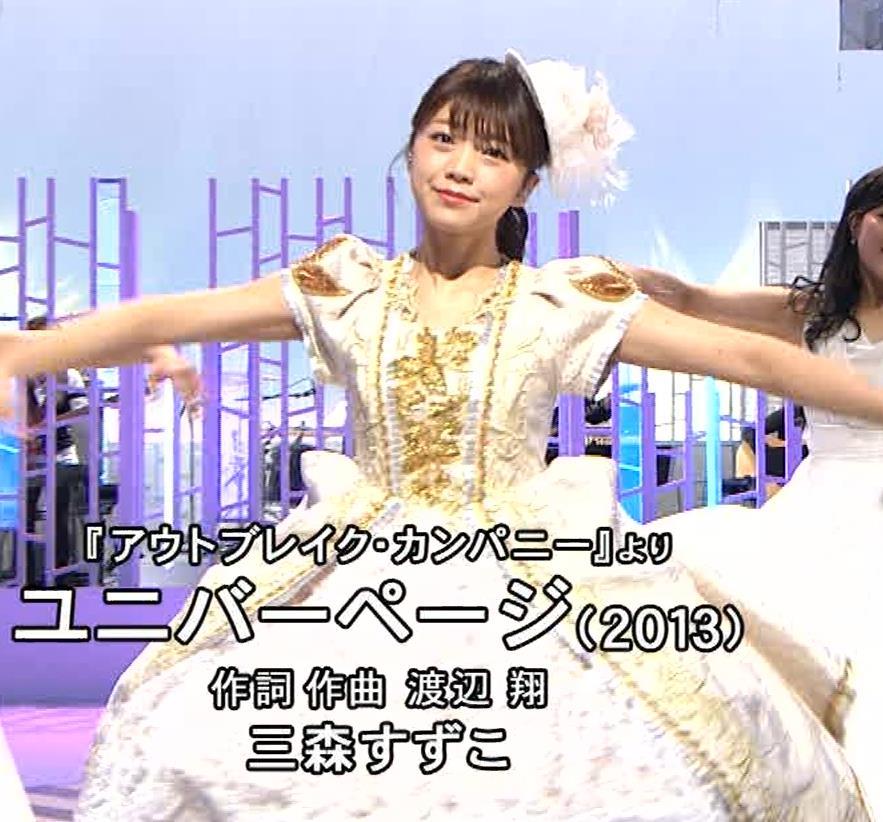 三森すずこ 美人声優のミニスカ美脚キャプ・エロ画像12