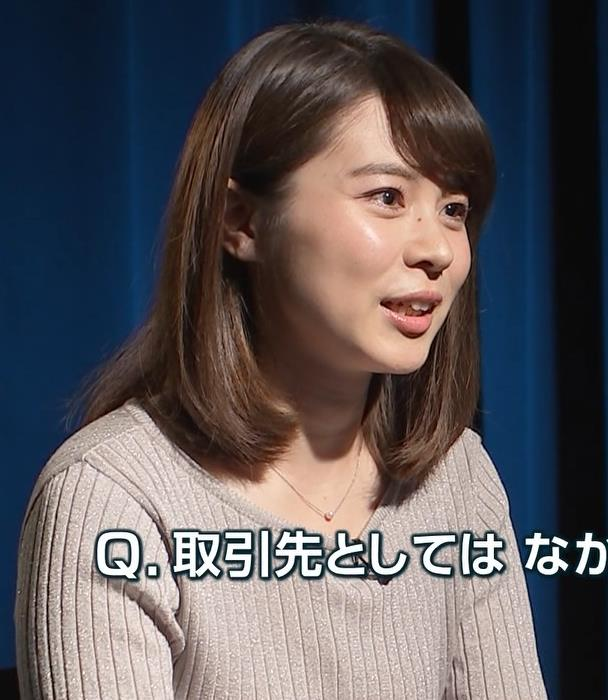皆川玲奈アナ おっぱいが大きくなってる!?キャプ・エロ画像3