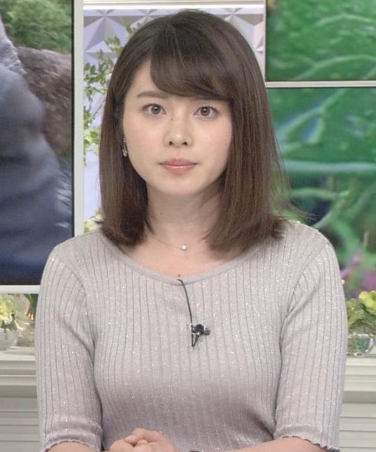 皆川玲奈アナ おっぱいが大きくなってる!?キャプ・エロ画像4