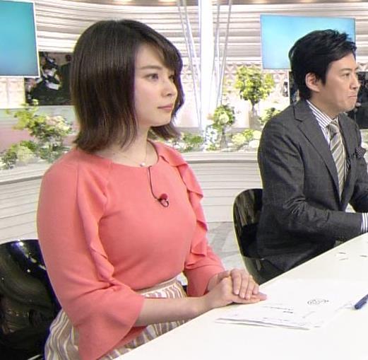 皆川玲奈アナ おっぱいがエロい服キャプ・エロ画像5