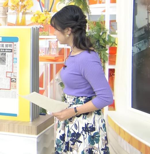 皆川玲奈アナ 早朝のニュース番組なのにエロ過ぎキャプ・エロ画像6