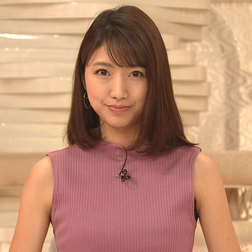 三田友梨佳アナ エロいニュース番組になってきたキャプ・エロ画像