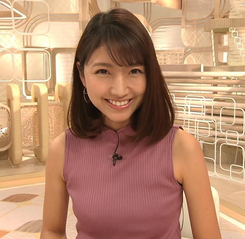 三田友梨佳アナ エロいニュース番組になってきたキャプ・エロ画像11