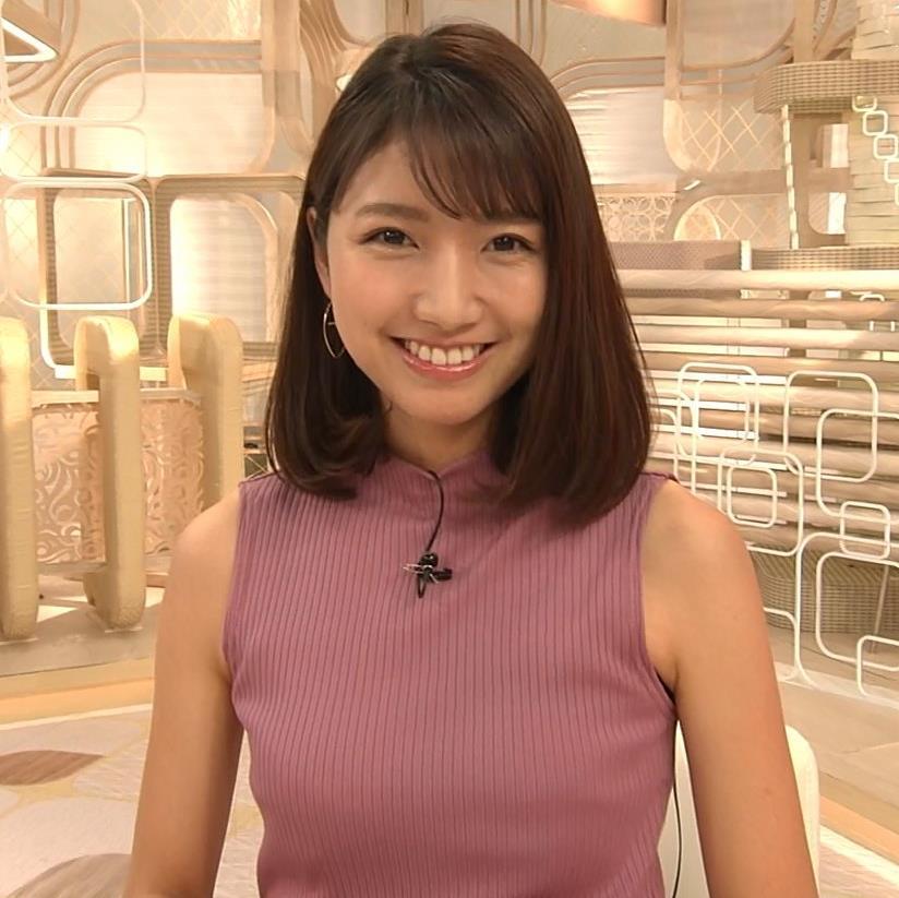 三田友梨佳アナ エロいニュース番組になってきたキャプ・エロ画像12