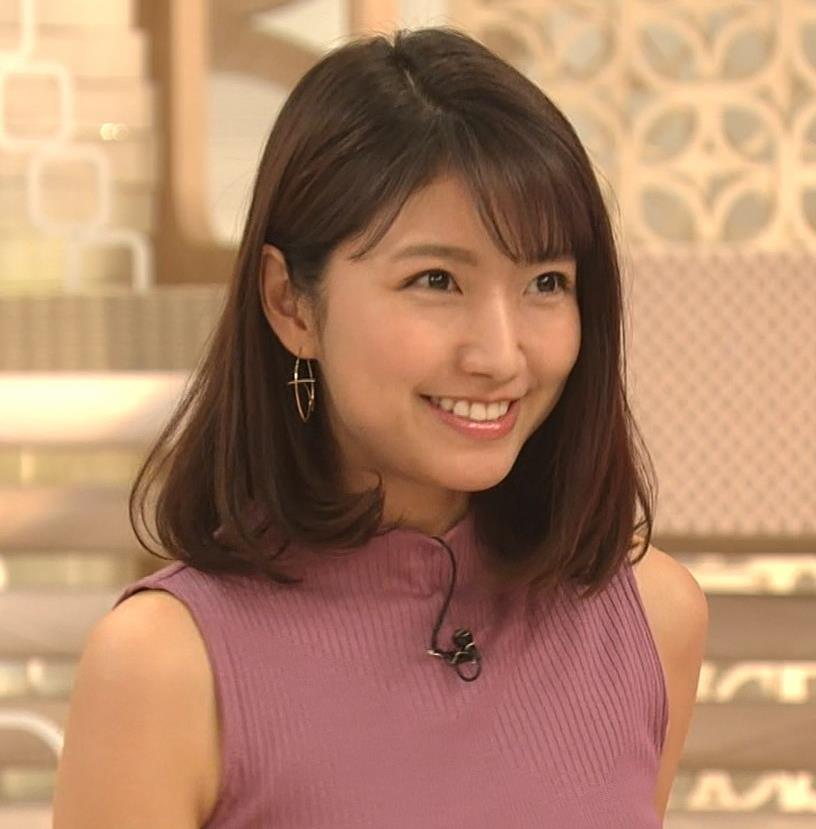 三田友梨佳アナ エロいニュース番組になってきたキャプ・エロ画像13