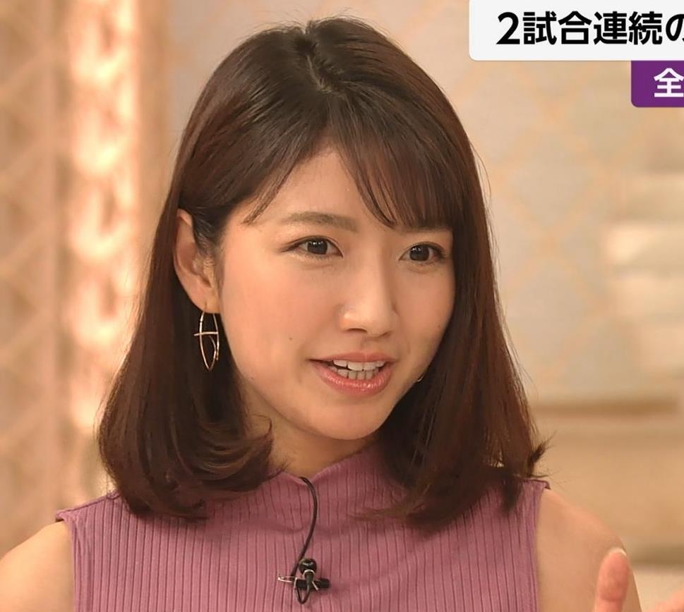 三田友梨佳アナ エロいニュース番組になってきたキャプ・エロ画像14