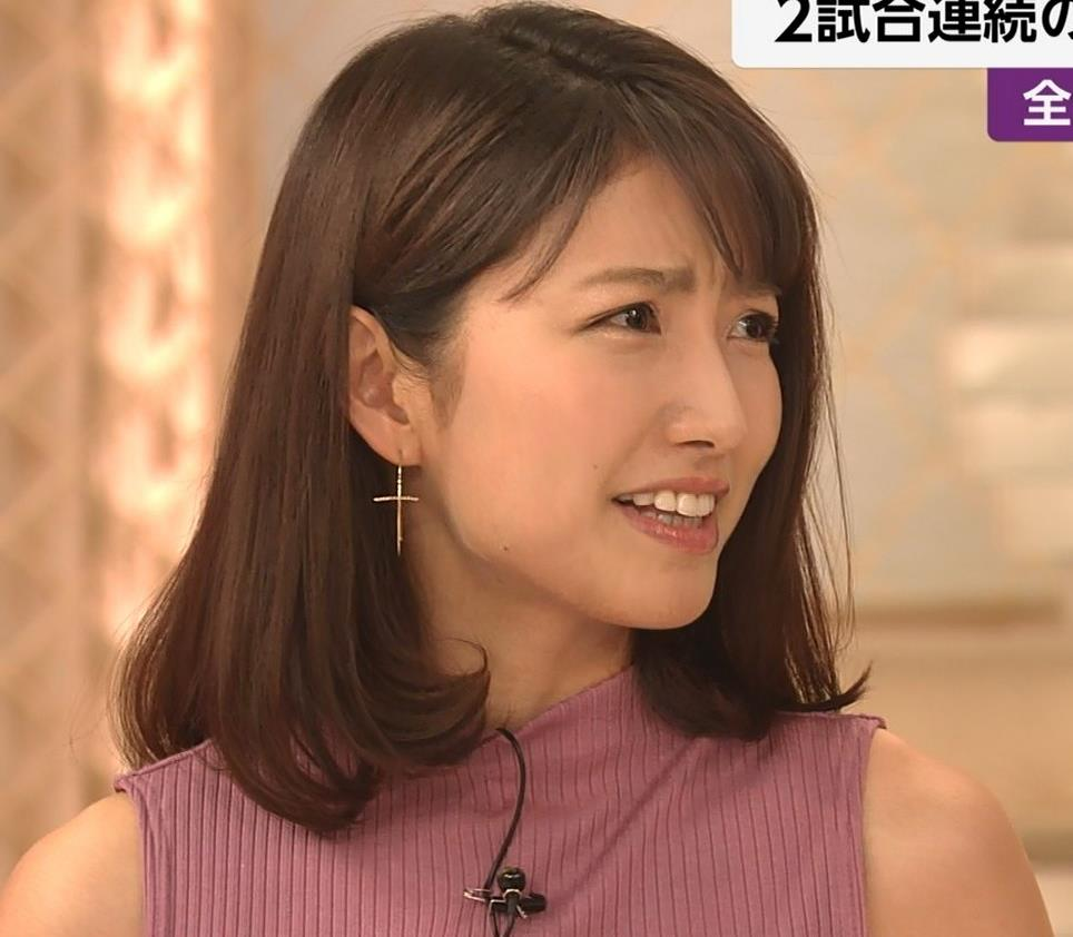 三田友梨佳アナ エロいニュース番組になってきたキャプ・エロ画像15