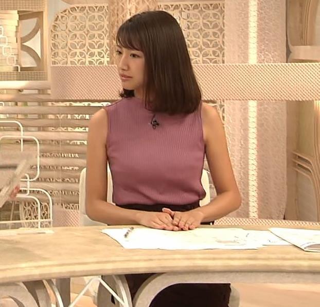 三田友梨佳アナ エロいニュース番組になってきたキャプ・エロ画像3