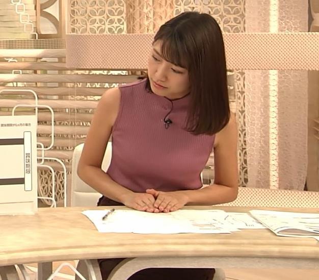 三田友梨佳アナ エロいニュース番組になってきたキャプ・エロ画像4
