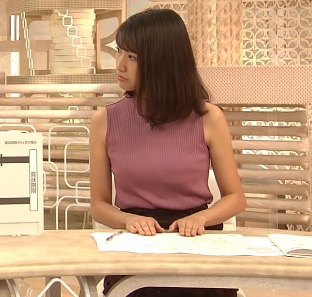 三田友梨佳アナ エロいニュース番組になってきたキャプ・エロ画像5