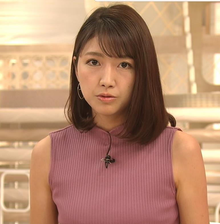 三田友梨佳アナ エロいニュース番組になってきたキャプ・エロ画像6