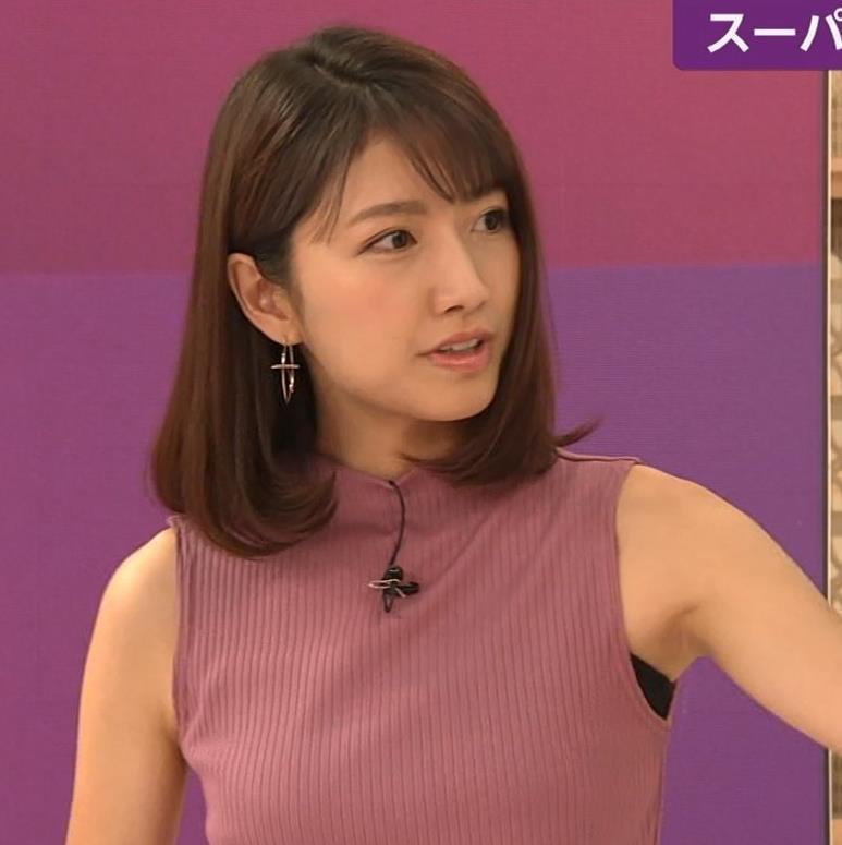 三田友梨佳アナ エロいニュース番組になってきたキャプ・エロ画像8