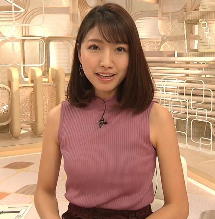 三田友梨佳アナ エロいニュース番組になってきたキャプ・エロ画像10