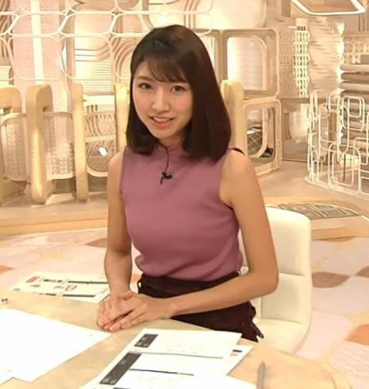三田友梨佳アナ エロいニュース番組になってきたキャプ画像(エロ・アイコラ画像)