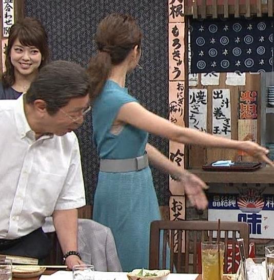 三田友梨佳アナ ニット乳キャプ・エロ画像6