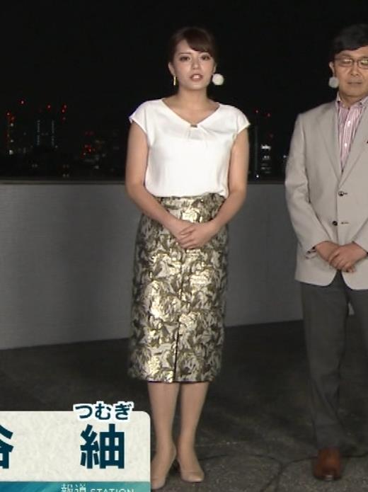 三谷紬アナ ボリューム満点女子アナキャプ・エロ画像2