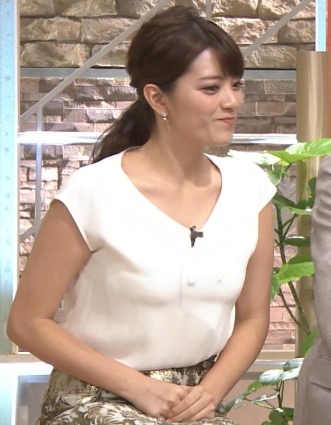 三谷紬アナ ボリューム満点女子アナキャプ・エロ画像9