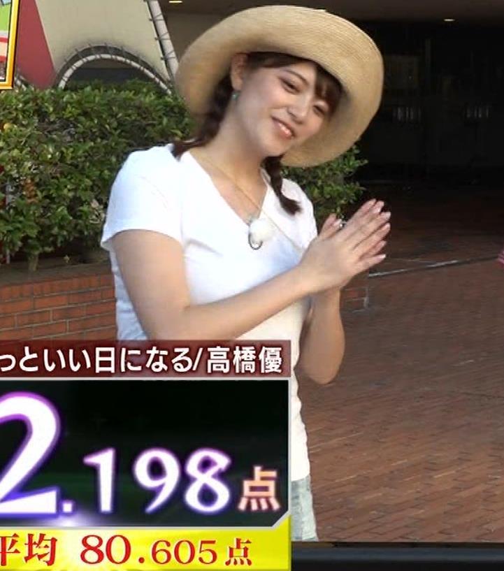 アナ 爆乳アナのエロエロTシャツ姿キャプ②キャプ・エロ画像5