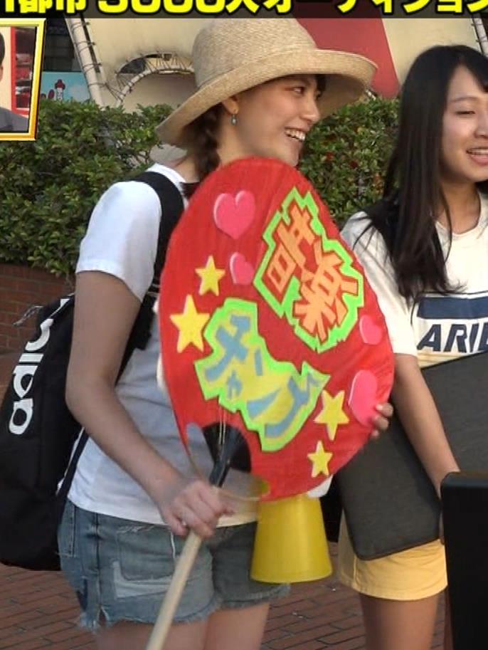 アナ 爆乳アナのエロエロTシャツ姿キャプ②キャプ・エロ画像6
