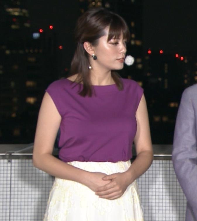 三谷紬アナ 顔テカテカ&乳デカデカキャプ・エロ画像4