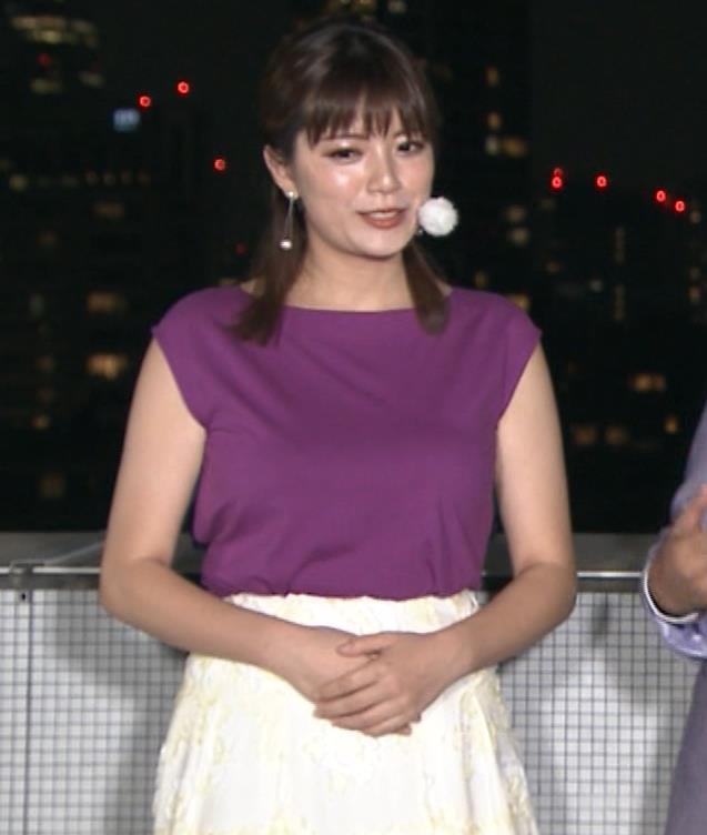 三谷紬アナ 顔テカテカ&乳デカデカキャプ・エロ画像5