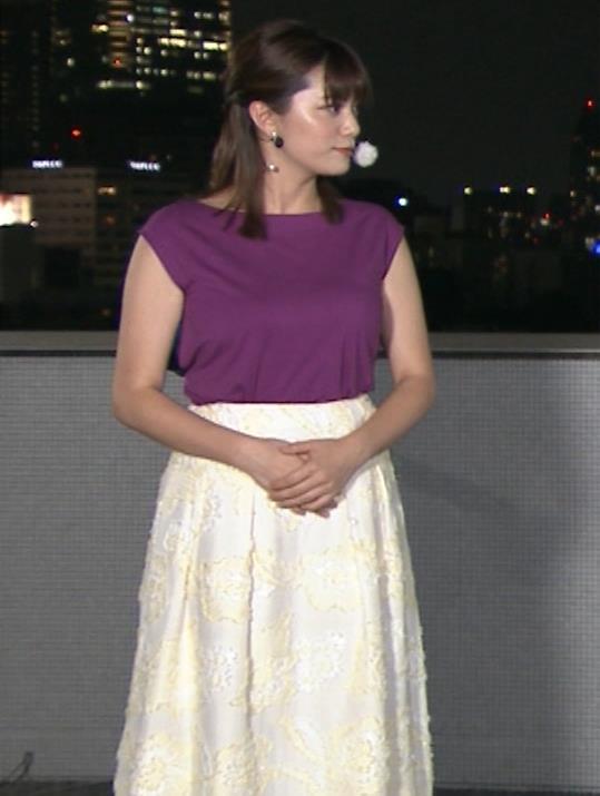三谷紬アナ 顔テカテカ&乳デカデカキャプ・エロ画像7