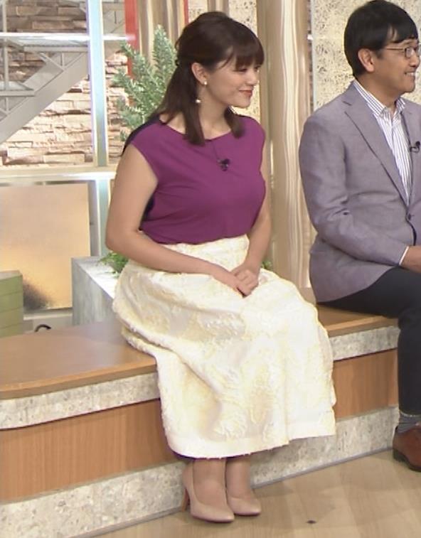 三谷紬アナ 顔テカテカ&乳デカデカキャプ・エロ画像8