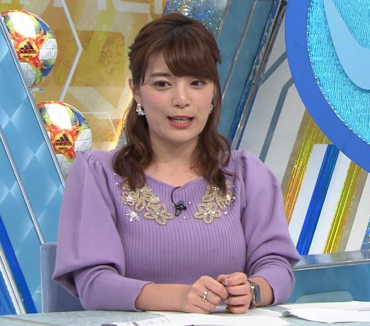 三谷紬アナ ボリューム満点おっぱいキャプ・エロ画像3