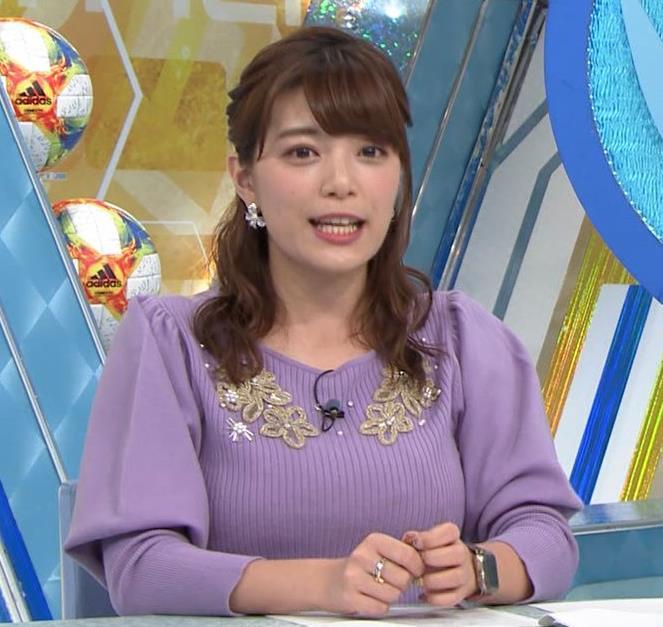 三谷紬アナ ボリューム満点おっぱいキャプ・エロ画像4