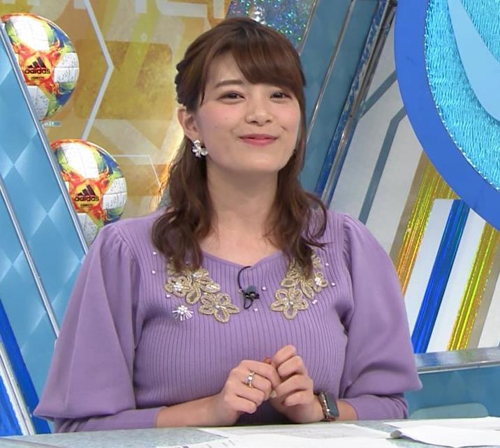 三谷紬アナ ボリューム満点おっぱいキャプ・エロ画像5