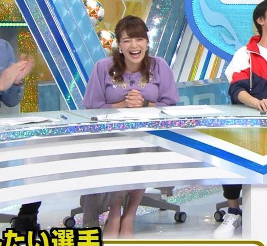 三谷紬アナ ボリューム満点おっぱいキャプ・エロ画像6