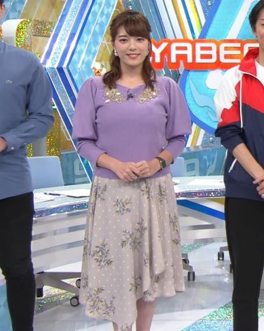 三谷紬アナ ボリューム満点おっぱいキャプ・エロ画像8