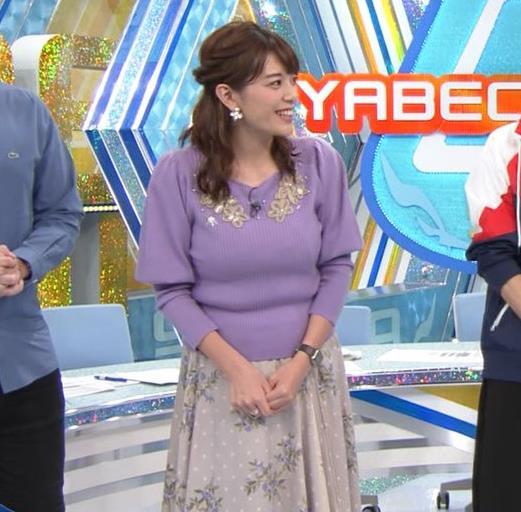 三谷紬アナ ボリューム満点おっぱいキャプ・エロ画像9