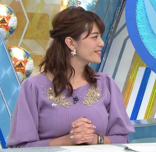 三谷紬アナ ボリューム満点おっぱいキャプ画像(エロ・アイコラ画像)