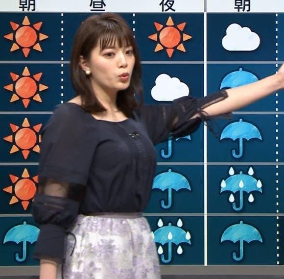 三谷紬アナ 横から見るとやっぱりでけぇキャプ・エロ画像6