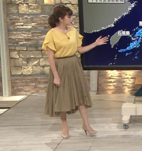 三谷紬アナ 昨日の巨乳(報ステ 6・15)キャプ・エロ画像