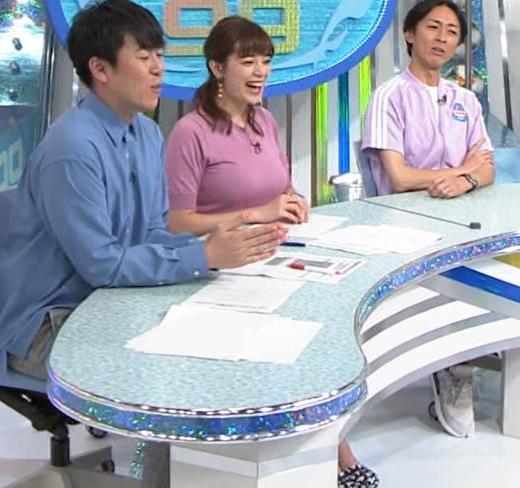 三谷紬アナ テレ朝の爆乳エロキャプ・エロ画像