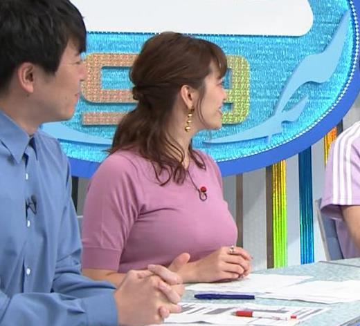 三谷紬アナ テレ朝の爆乳エロキャプ・エロ画像2