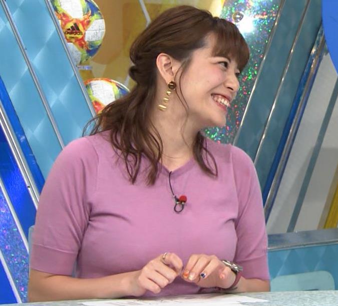 三谷紬アナ テレ朝の爆乳エロキャプ・エロ画像3