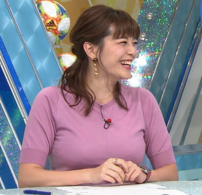三谷紬アナ テレ朝の爆乳エロキャプ・エロ画像5