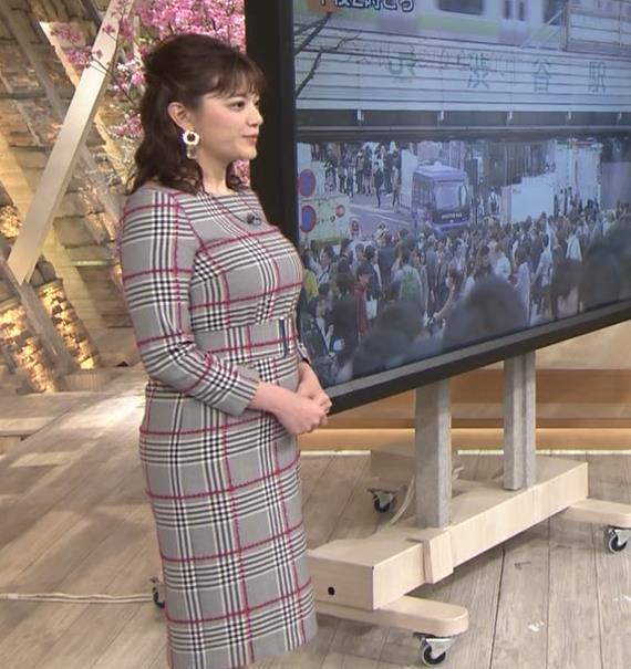 三谷紬アナ 超ボリューム系キー局アナキャプ・エロ画像