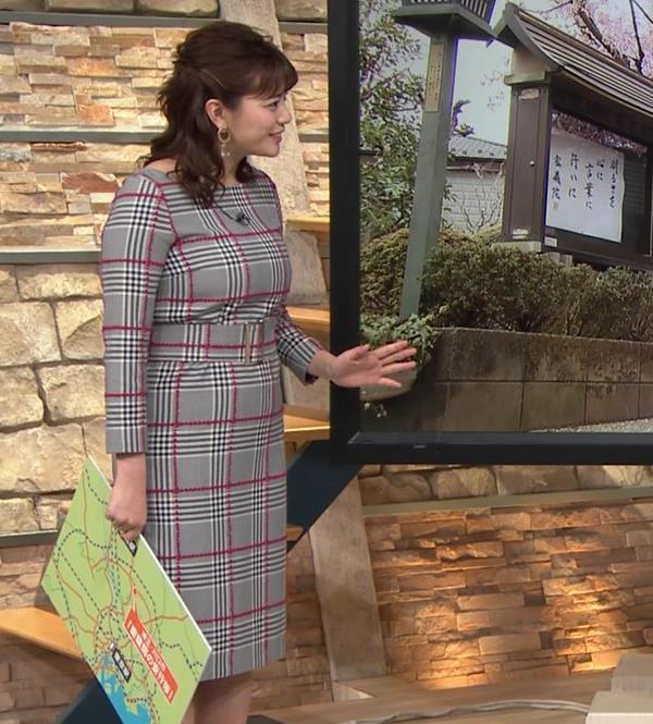 三谷紬アナ 超ボリューム系キー局アナキャプ・エロ画像13