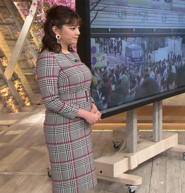 三谷紬アナ 超ボリューム系キー局アナキャプ・エロ画像7
