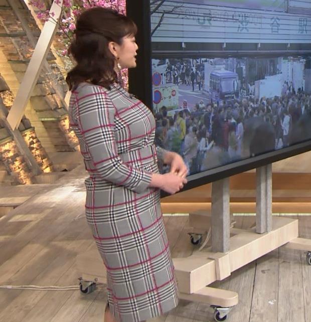 三谷紬アナ 超ボリューム系キー局アナキャプ・エロ画像8