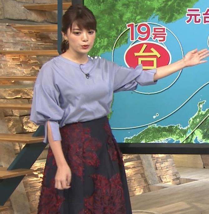 三谷紬アナ どうしても巨乳が目立ってしまうキャプ・エロ画像4