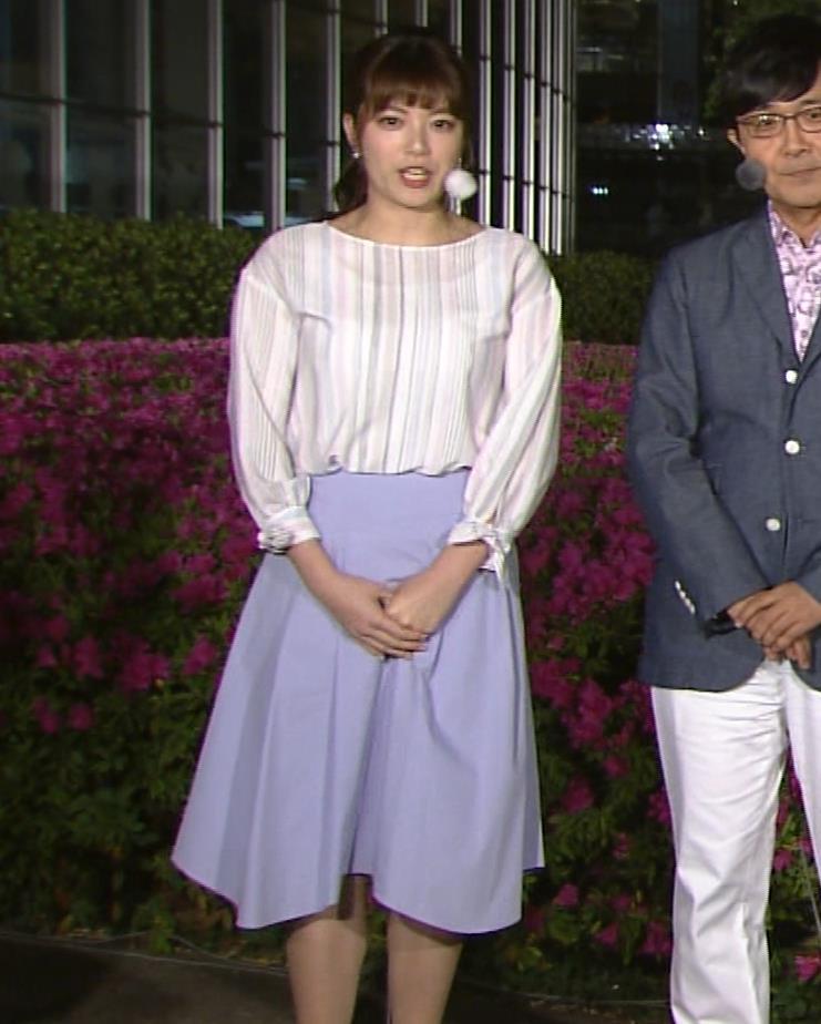 三谷紬アナ テレ朝一の巨乳アナキャプ・エロ画像2