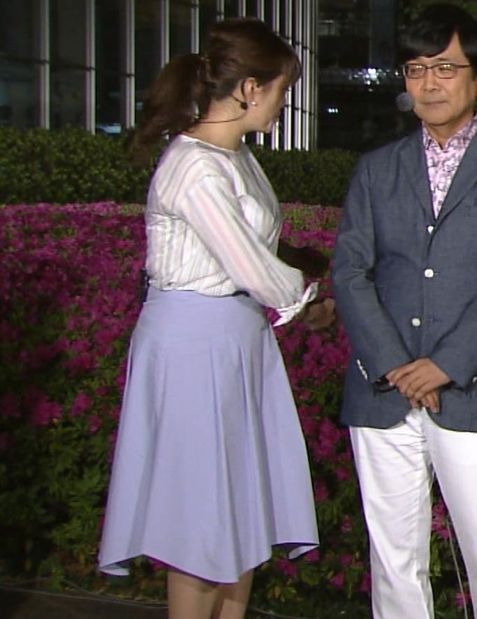 三谷紬アナ テレ朝一の巨乳アナキャプ・エロ画像3