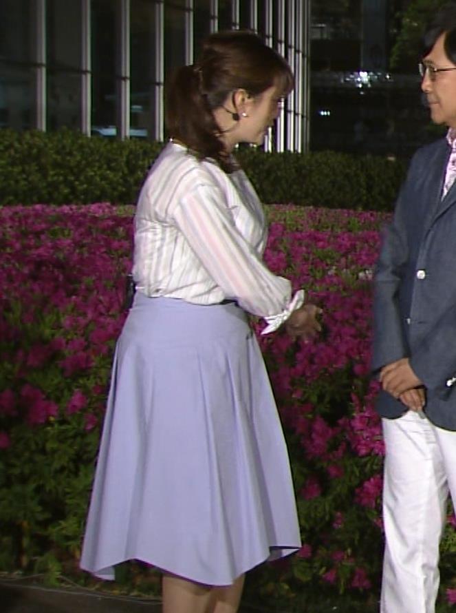三谷紬アナ テレ朝一の巨乳アナキャプ・エロ画像4