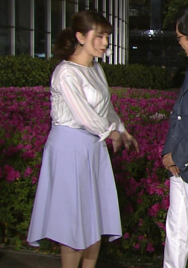 三谷紬アナ テレ朝一の巨乳アナキャプ・エロ画像5