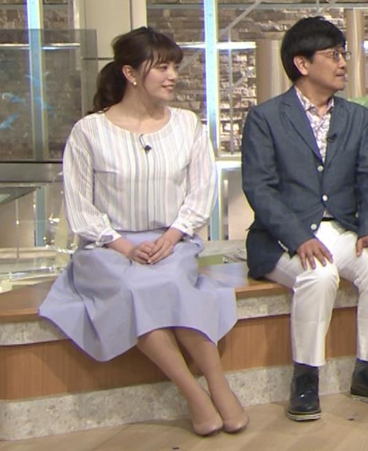三谷紬アナ テレ朝一の巨乳アナキャプ・エロ画像7